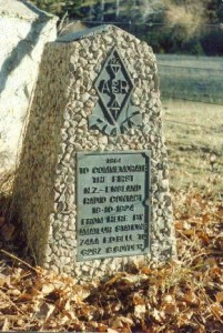 Commemorative Cairn circa.1984